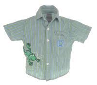 Košile s krátkým rukávem velikost 86