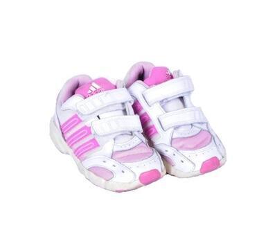 Tenisky na suchý zip velikost 24 (15,5cm) Adidas - 1