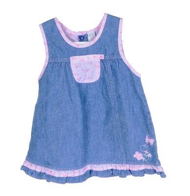 Džínové šaty velikost 68 - 1