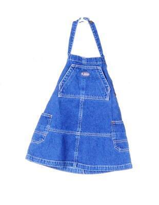 Džínové šaty velikost 104 - 1