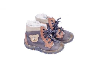 Vycházková obuv kotníček zatepl. velikost 21 (13,5cm) - 1