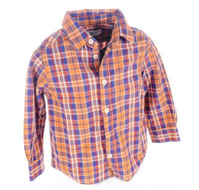 Košile s dlouhým  rukávem velikost 92 - 1