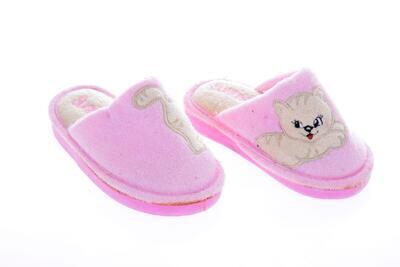 Chlupatá domácí obuv  velikost 24 (15,5cm) - 1
