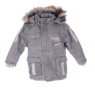 Kabát s kožíškem velikost 104 - 1