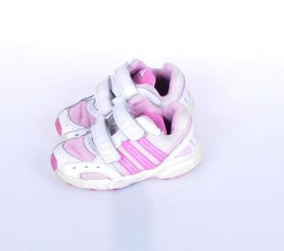 Tenisky na suchý zip velikost 24 (15,5cm) Adidas - 2