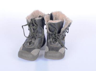 Vysoké boty velikost 21 (13,5cm) - 2