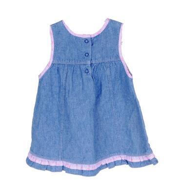 Džínové šaty velikost 68 - 2