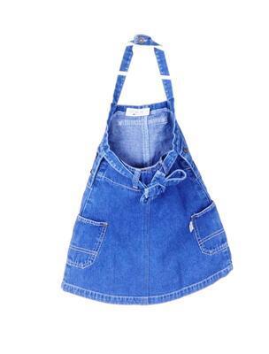 Džínové šaty velikost 104 - 2