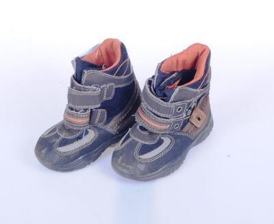 Vysoké boty velikost 22 (14,5cm) - 2