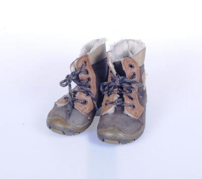 Vycházková obuv kotníček zatepl. velikost 21 (13,5cm) - 2