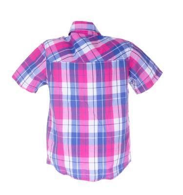 Košile s krátkým rukávem velikost 122 - 2