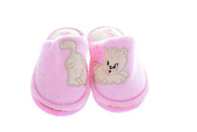 Chlupatá domácí obuv  velikost 24 (15,5cm) - 2