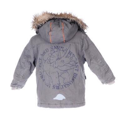 Kabát s kožíškem velikost 104 - 2